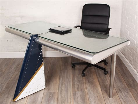 airplane wing desk the sky s the limit for max mcmurdo s new recycled