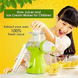 Giocoso Manual Kids Juicer Ice Cream  End 5  15  2017 9 06 Pm