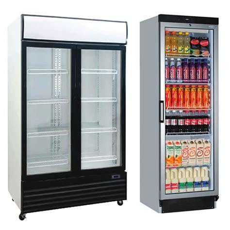 Upright Glass Chillers   Display Fridges   Refrigeration