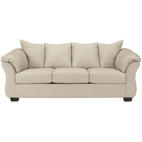 ashley darcy sectional sofa signature design by ashley furniture darcy sofa in stone