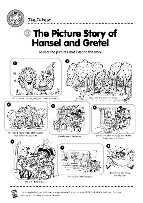 picture story  hansel  gretel stories