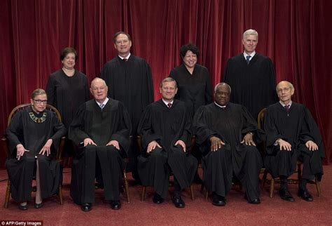 Official Supreme Court Justice Photos