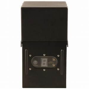 Moonrays power pack low voltage watt black outdoor