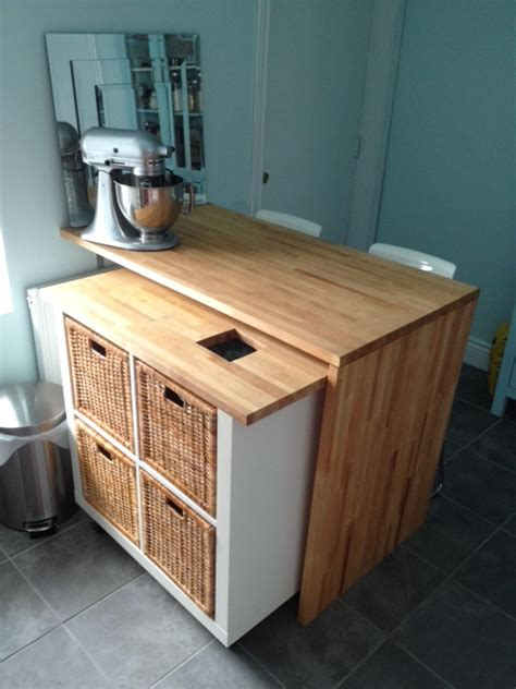 ikea kitchen island hack 10 ingenious ikea hacks for the kitchen remodelaholic