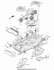 Mtd 13aa625p004  2008  Parts Diagram For Mower Deck 50