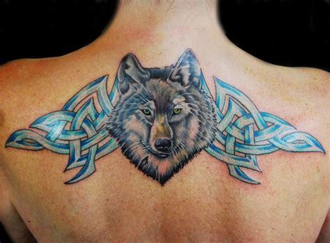 celtic wolf tattoos