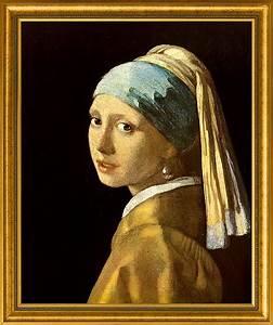 Das Mädchen Mit Dem Perlenohrring Gemälde : jan vermeer van delft bild das m dchen mit dem perlenohrring 1665 gerahmt wp leserladen ~ Watch28wear.com Haus und Dekorationen