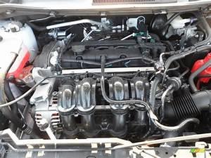 2012 Ford Fiesta Se Hatchback 1 6 Liter Dohc 16