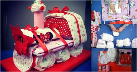 adorable choo choo train diaper cake baby