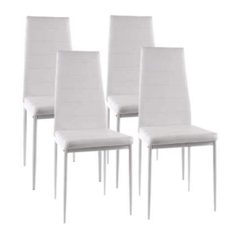 lot 4 chaises blanches 27 nouveau chaises salle ã manger blanches kqk9 meuble