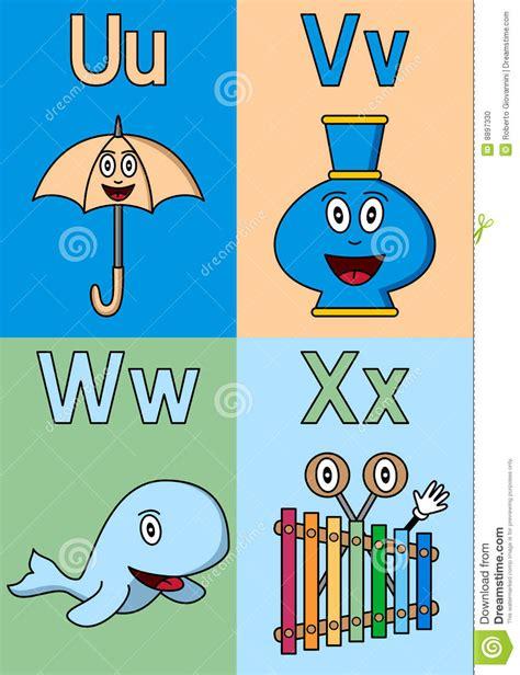 kindergarten alphabet u x stock vector illustration of 358 | kindergarten alphabet u x 8897330