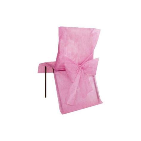 housse de chaise intisse housses de chaise intiss 233 avec noeuds les 10
