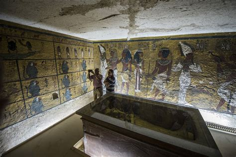Radar Points To Secret Chamber In King Tut's Tomb