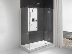 lapeyre salle de bains douche with lapeyre salle de bains With porte de douche coulissante avec carrelage moderne salle de bain