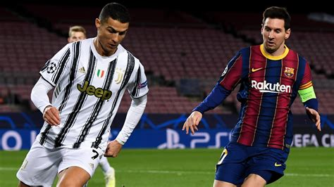 Cristiano Ronaldo and Lionel Messi goal for goal   UEFA ...