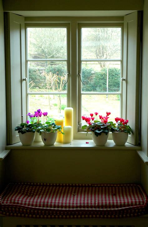 an country house window vintage bits of