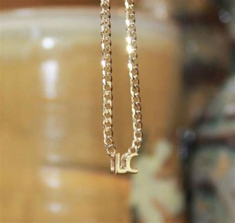 personalized  mini block initial necklace miley cyrus
