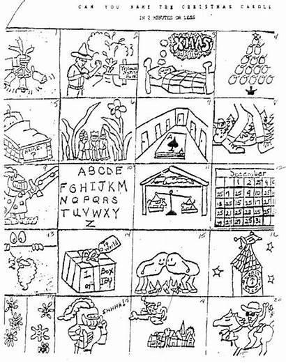 Brain Carol Teasers Christmas Answers Printable Holiday