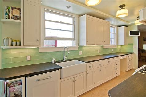 4x12 subway tile kitchen green glass tile modwalls colorful modern tile