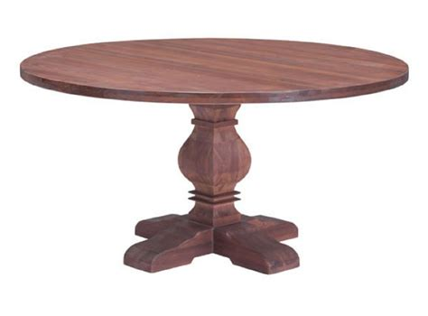 zuo modern hastings solid fir wood round dining