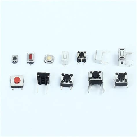 Total Pcs Tactile Tact Mini Push Button Switch Packet
