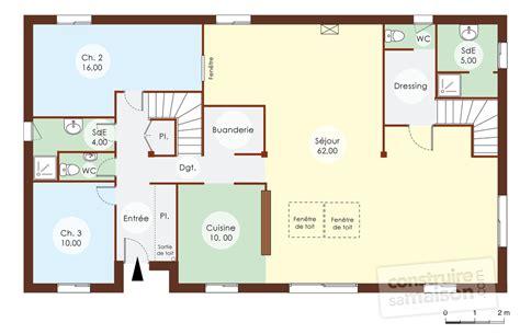 plan maison plain pied 3 chambre maison bois 1 dé du plan de maison bois 1 faire