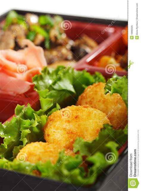 cuisine bento japanese bento lunch stock image cartoondealer com 35683213
