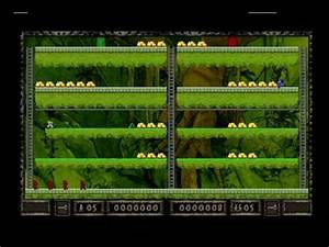 Lode Runner (PlayStation) - Stage 1 (2-player with Joe) (4 ...
