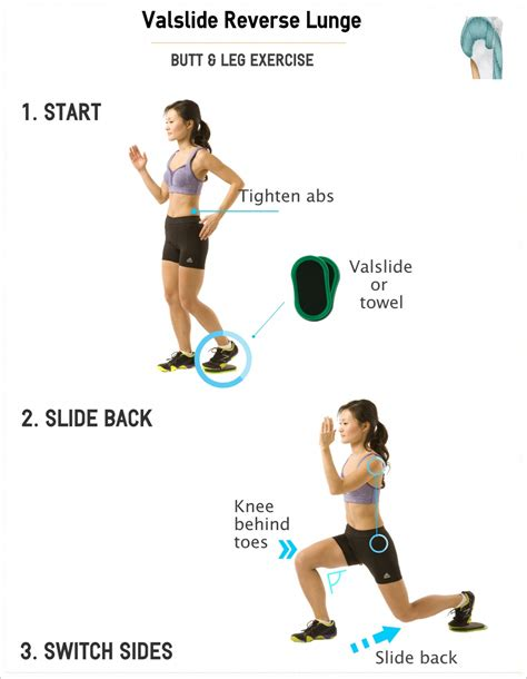 how to lunge a how to perform valslide reverse lunge