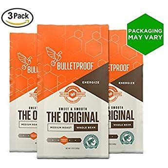 He developed his bulletproof coffee recipe after returning to the united states from. Bulletproof The Original Whole Bean Coffee, Premium Medium Roast Organic Beans, 3-Pack (With ...