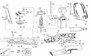 Black And Decker Tr250 Parts List And Diagram
