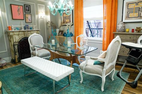 mindys shoppable house   chicest apartment  tv