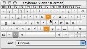 Write a short note on keyboard