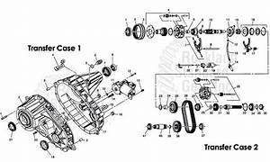 Transfer Case 2003 H2  Repair Issues  Help Please