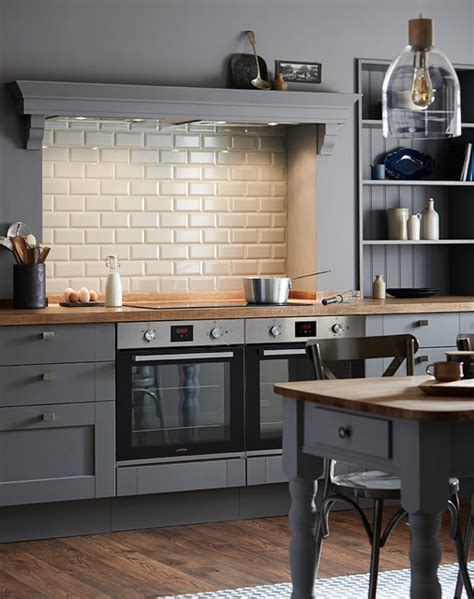 Fairford Slate Grey Shaker Style Kitchen   Traditional
