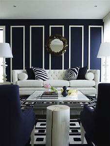 Navy blue living room chairs design ideas for Navy blue living room
