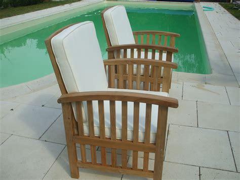 siege exterieur fauteuil de jardin bois l 39 univers du jardin