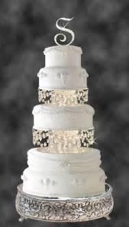 rhinestone cake stand swarovski and rhinestone chandelier wedding cake tier