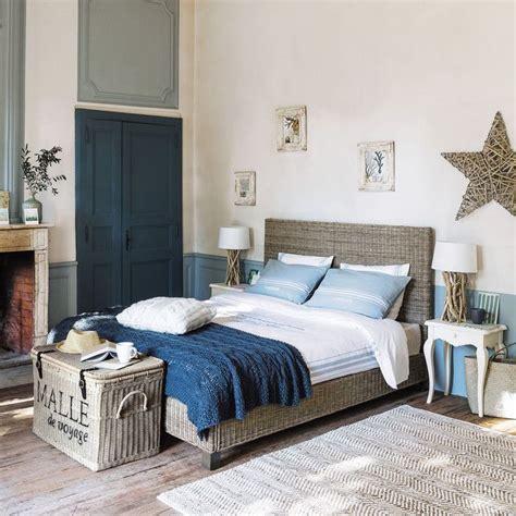 meubles  decoration de style atlantique bord de mer maisons du monde chambre en