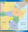 Look our special EAST AFRICA MAP | World Wall Maps Store