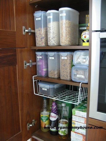 How To Organise A Pantry Cupboard by Before And After How I Organised My Food Cupboard