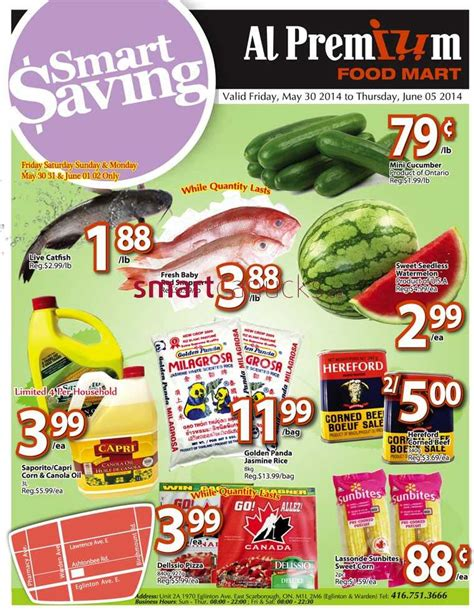 premium cuisines al premium food mart flyer may 30 to june 5