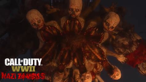 ww2 zombies boss duty call zombie le secret fight