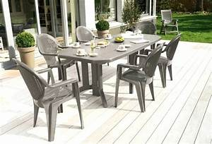 Ensemble De Jardin Pas Cher : chaise de jardin rose amazing mobilier de jardin en solde ~ Dailycaller-alerts.com Idées de Décoration