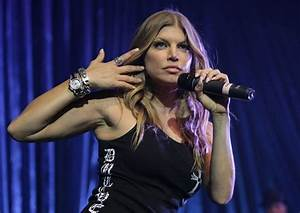 Fergie In Black Eyed Peas 4th Annual Peapod Foundation