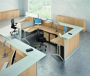 Modular desk systems home office office furniture for Home office desk systems