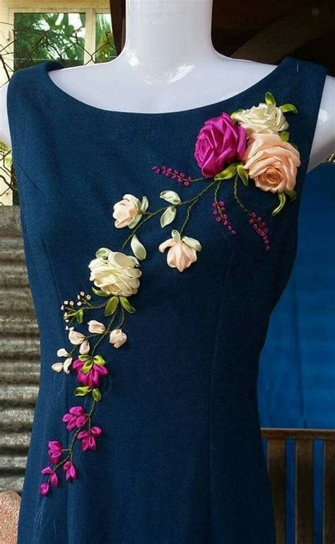 easy dress  cheap embroidery