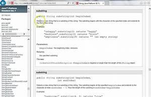 Java Api Documentation Javadoc