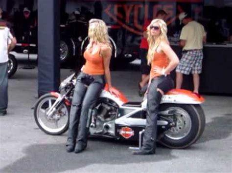 georgia gorgeous blonde harley davidson girls