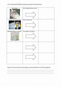 Evaporation And Condensation Worksheet By V1990